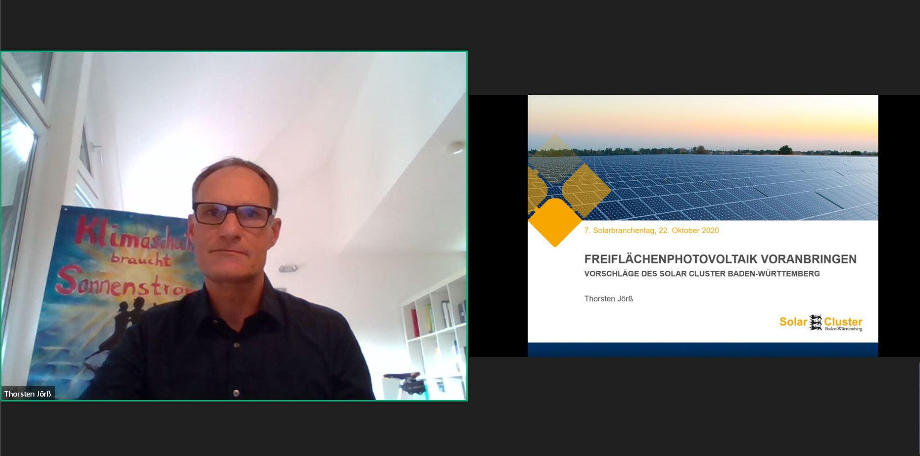 Rückblick Solarbranchentag 2020 Freiflächenphotovoltaik