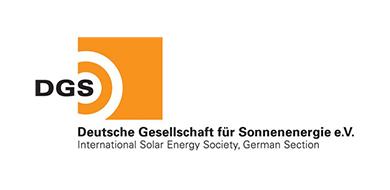 Logo Deutsche Gesellschaft für Sonnenenergie e.V.