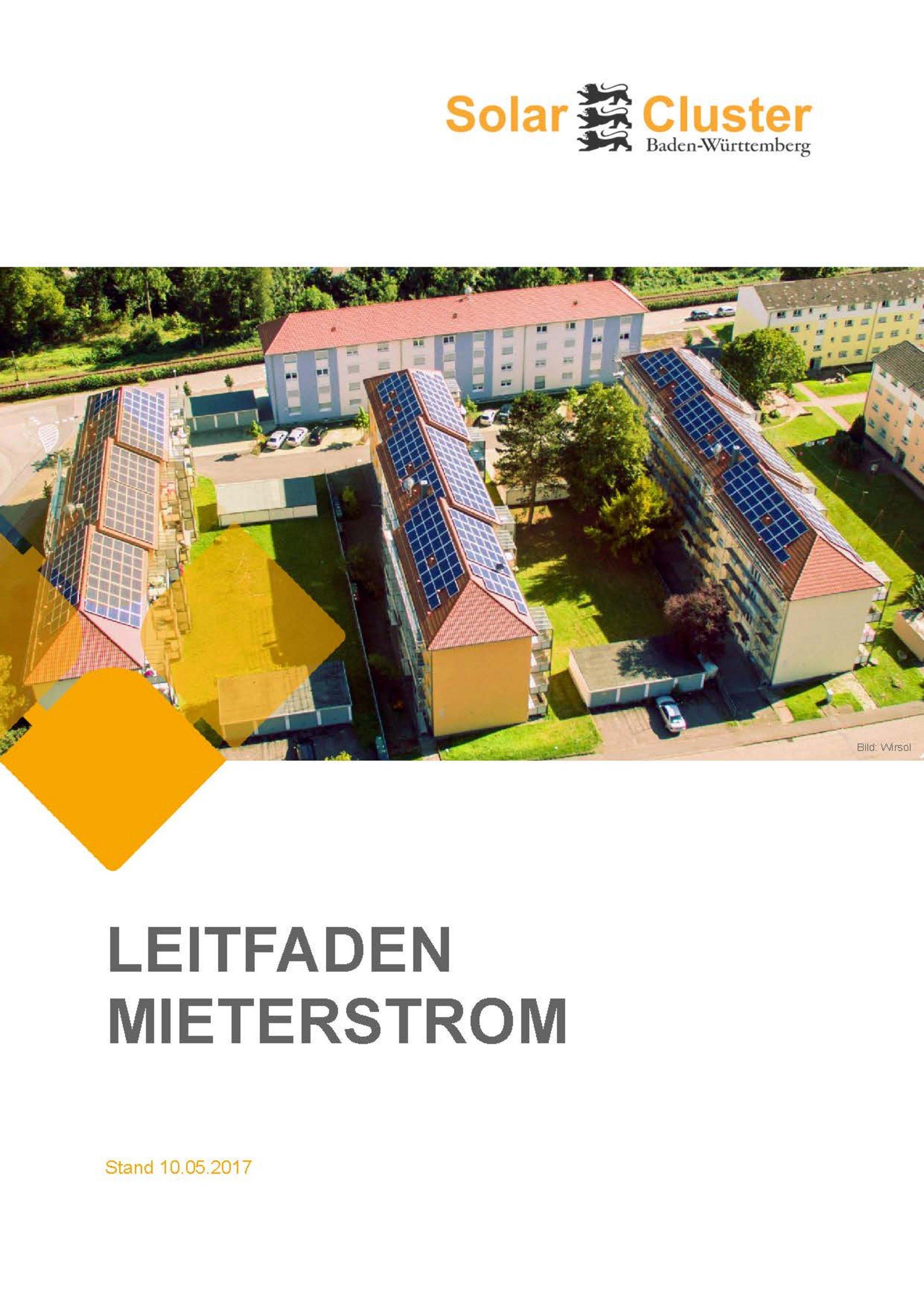 Leitfaden Mieterstrom