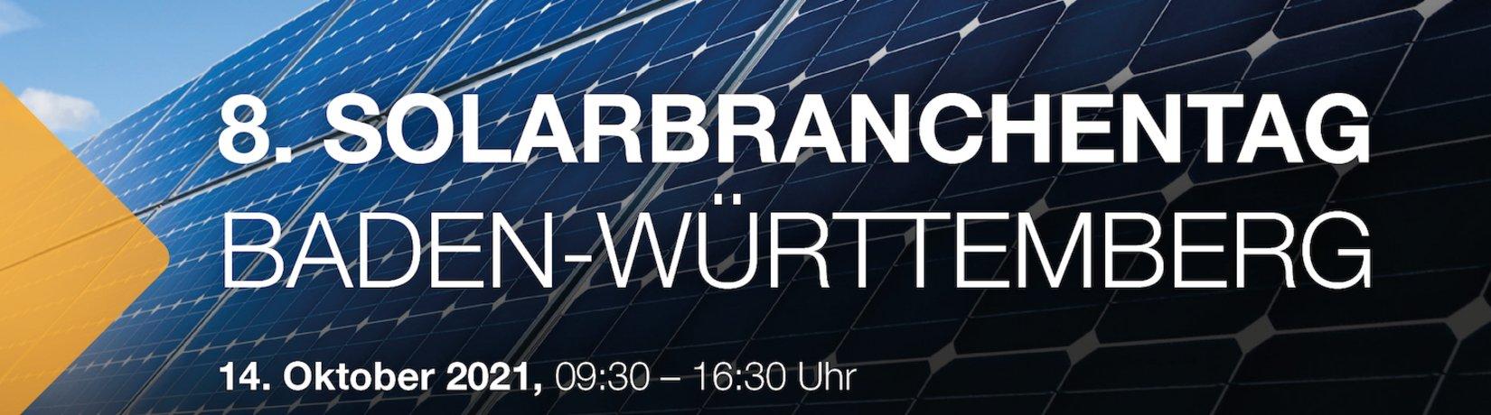 Banner 8. Solarbranchentag 2021