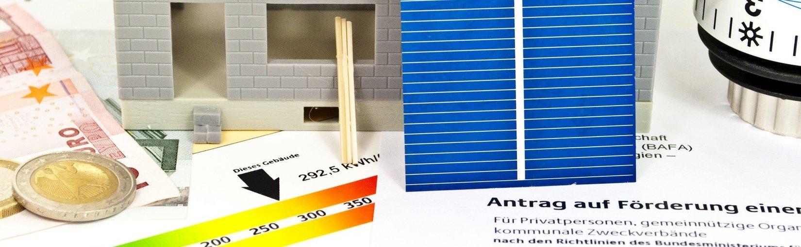 Symbolbild für die Planung einer Solaranlage