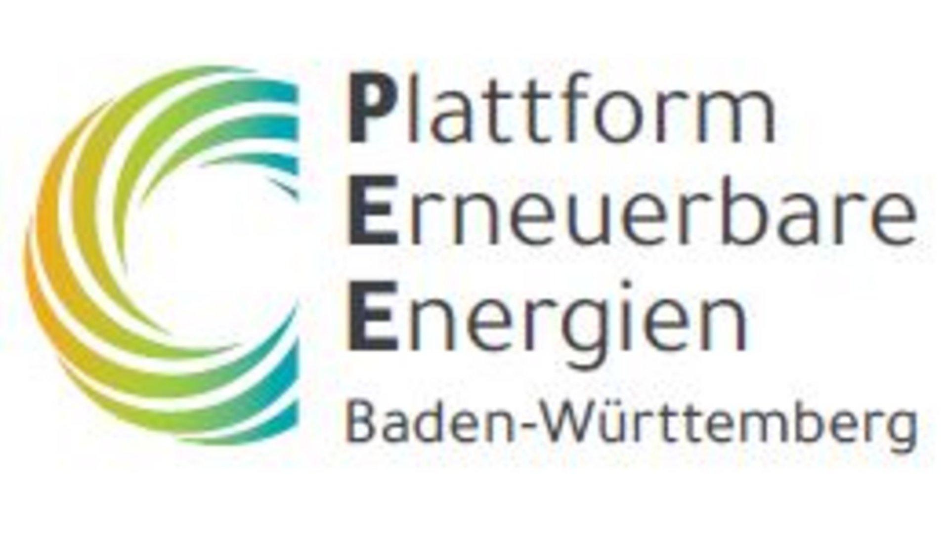 Logo der Plattform Erneuerbare Energien BW