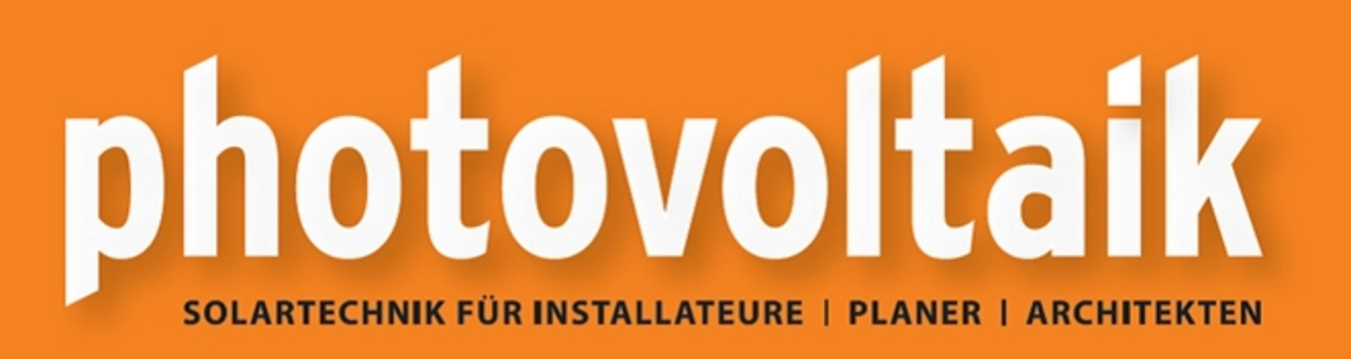 Logo der Fachzeitschrift photovoltaik