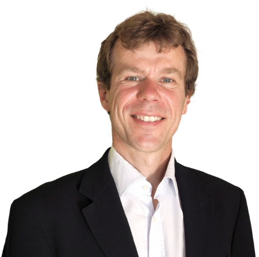 Porträtfoto von Geschäftsführer Franz Pöter